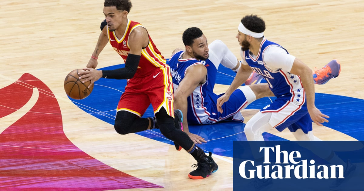 Top-seeded Philadelphia 76ers on brink after stunning collapse against Hawks