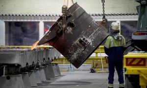 The UK's only remaining aluminium smelter, the Liberty British Aluminium factory in Lochaber, Scotland.