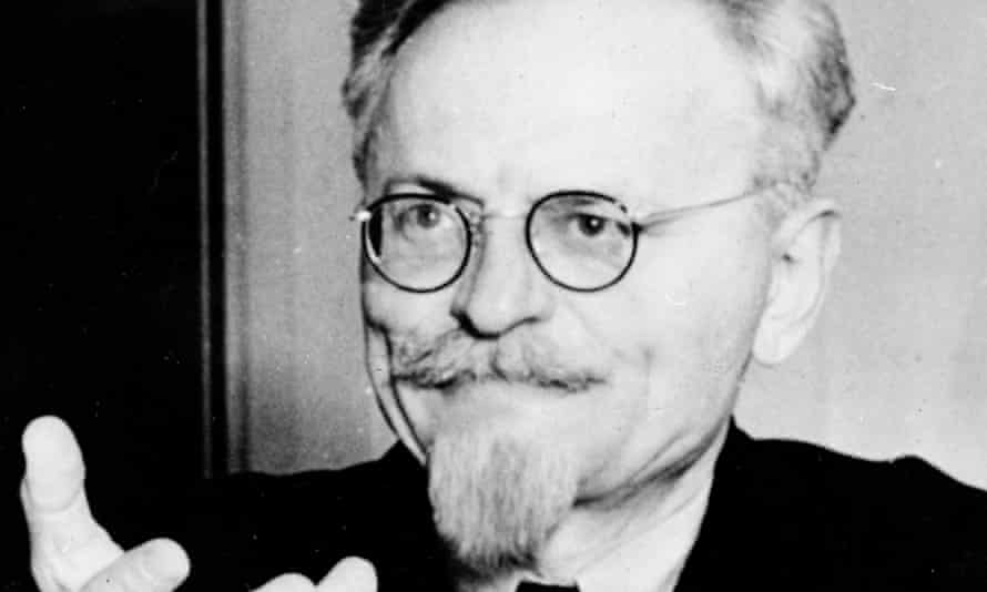 Leon Trotsky, shortly before his assassination in Mexico City in 1940