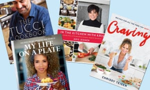 'Every celebrity cookbook is a reminder that these big names eat, sleep and shit like the rest of us.'
