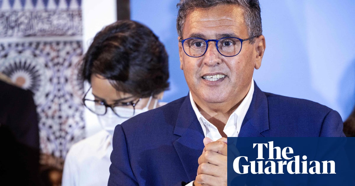 Morocco's king appoints billionaire Akhannouch to head government after election win