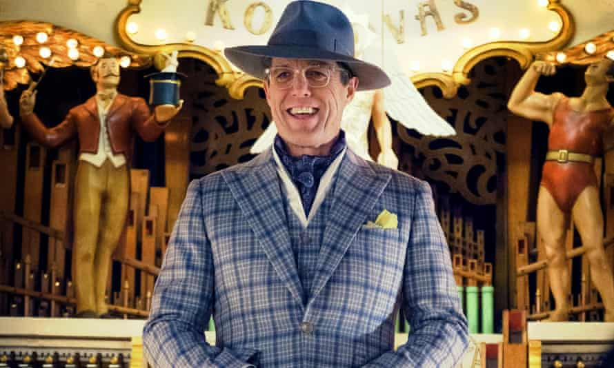 Washed-up luvvie ... Hugh Grant in Paddington 2.