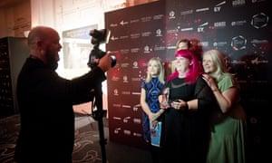The Recruitment & HR award winners Kirklees council: In2Care Kirklees. Guardian Public Service Awards 2019, held in central London 26 November 2019