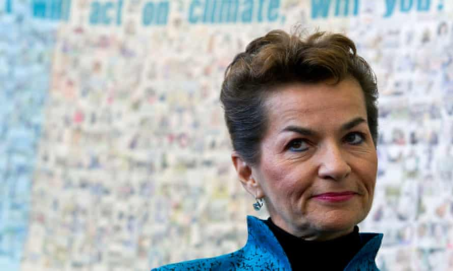 Christiana Figueres: 'a universal climate agreement of nations also needs universal support from the private sector beyond Europe and North America.'