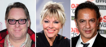 The cases had been brought by Jim Moir (better known as comedian and actor Vic Reeves), TV presenter Kate Thornton and Coronation Street actor Rajan Harkishindas, who uses the name Jimmi Harkishin.