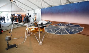 Model of InSight spacecraft