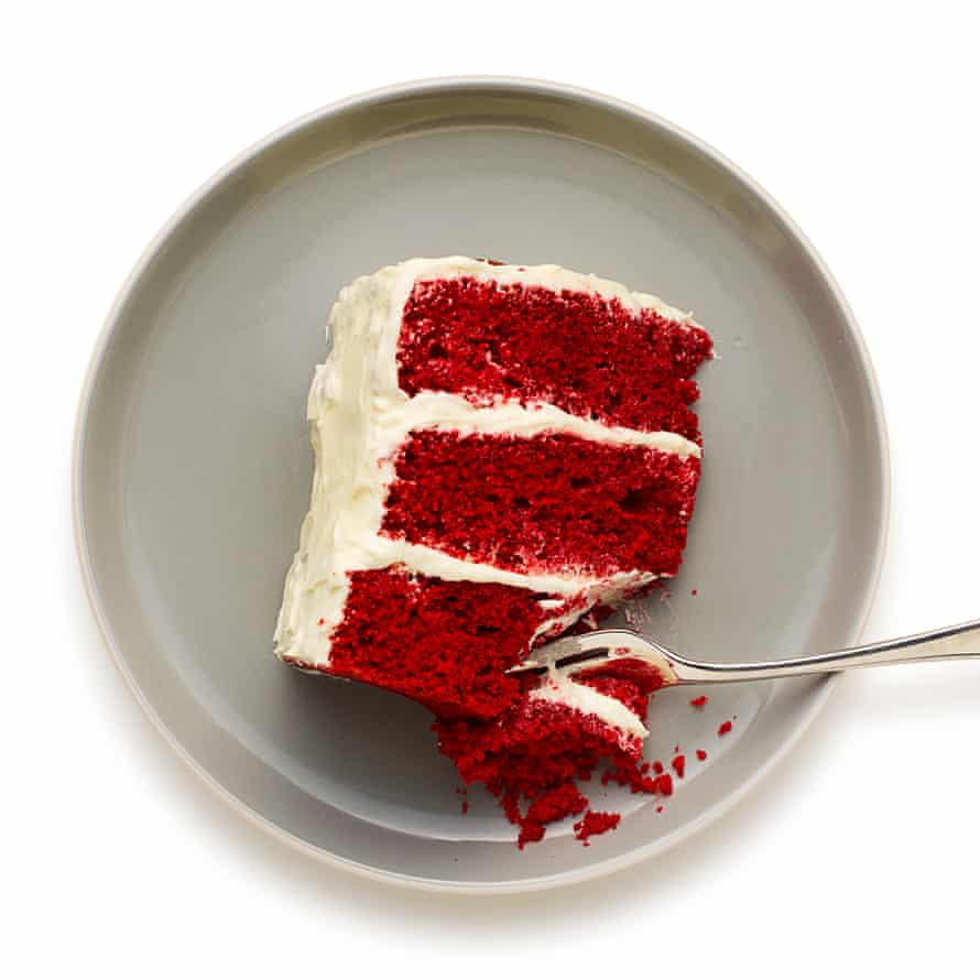 Felicity Cloake's red velvet cake.