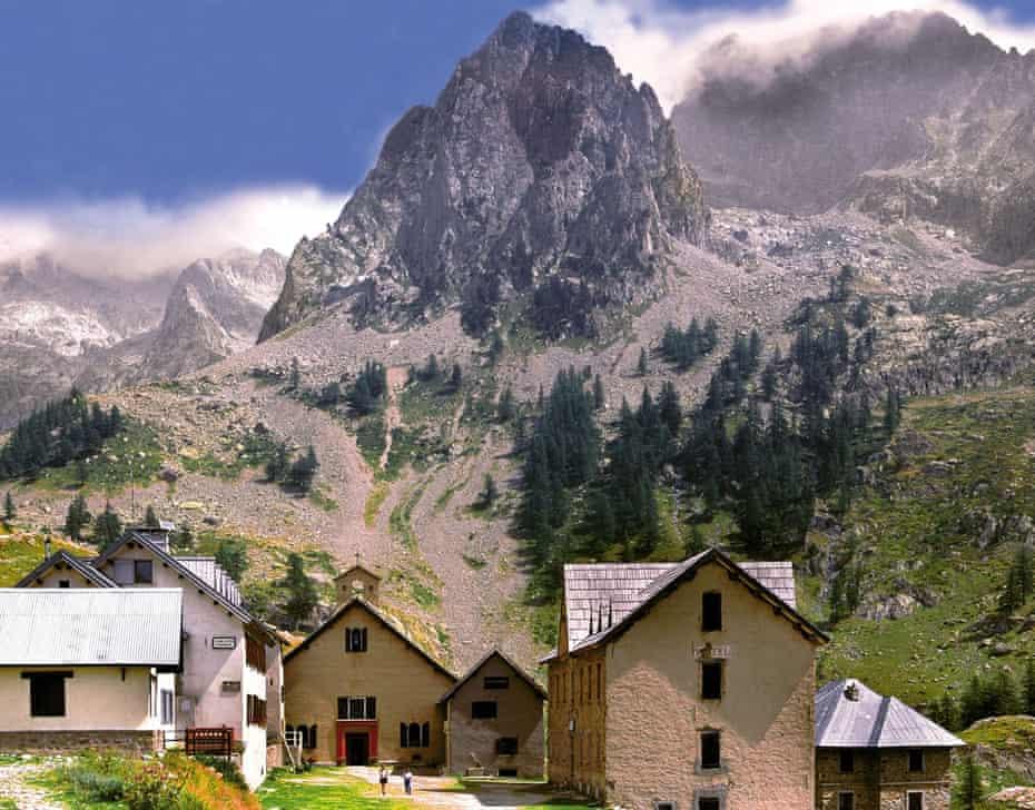 La Madone de Fenestre in Mercantour national park