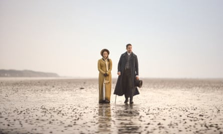 Rose Williams as Charlotte Heywood and Theo James as Sidney Parker in ITV's forthcoming series of Sanditon, adapted by Andrew Davies.