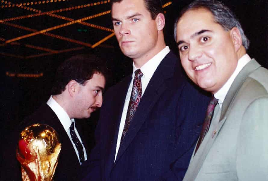 Jim Paglia (right) helped bring the World Cup opener in 1994 to Chicago.