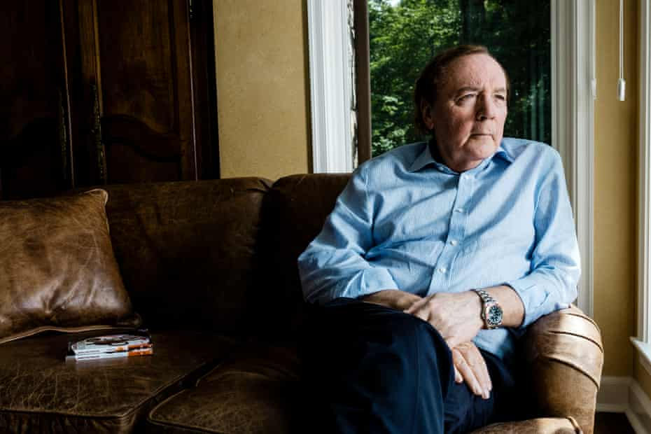 Bestselling author James Patterson photographed at his second home in the Hudson River Valley, New York.
