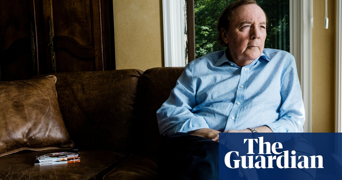 'Bill and I got pretty friendly': James Patterson on writing with Clinton and clashing with Trump