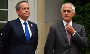 Bill Shorten and Malcolm Turnbull