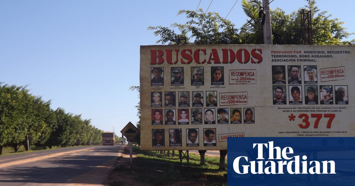 In Paraguay's remote north guerrillas are still at large, armed and  dangerous