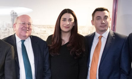 Mike Gapes smile