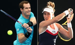 Andy Murray and Johanna Konta have had mixed buildups to the Australian Open.