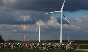 Wind power installations raced ahead in 2015, accounting for more than half of all new electricity generation worldwide.