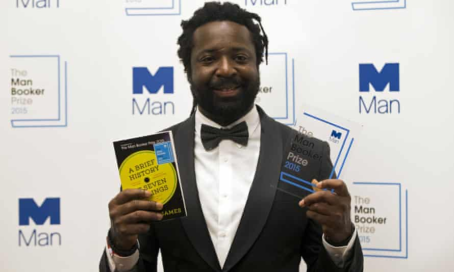 """Marlon James, author of """"A Brief History of Seven Killings"""" and winner of the Man Booker prize."""