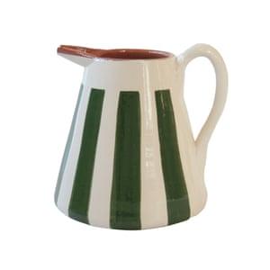 Terracotta striped jug by Casa Cubista, £35, lusophile.co.uk