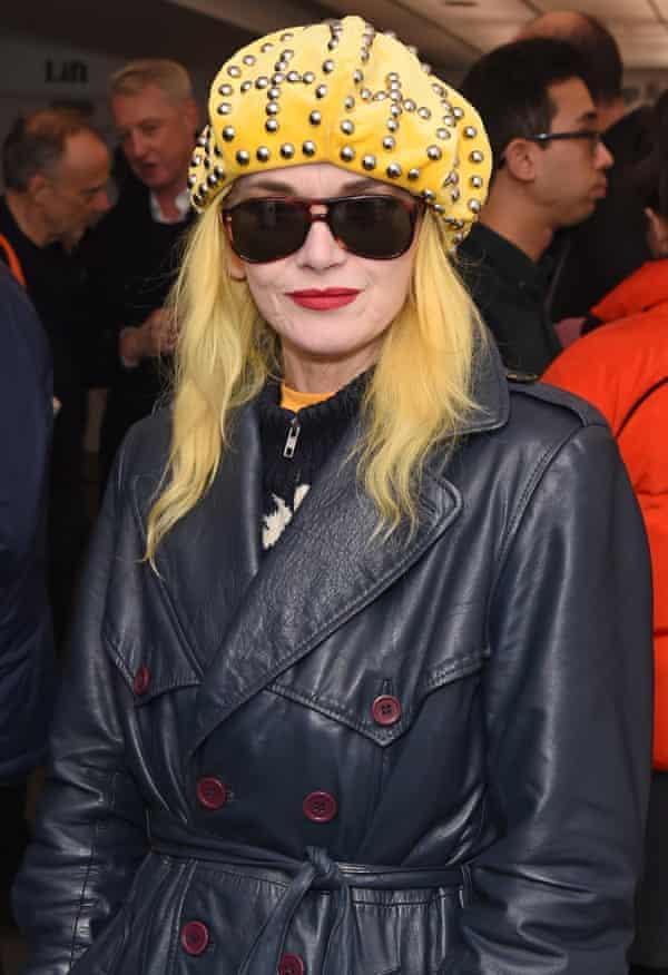 The designer Pam Hogg
