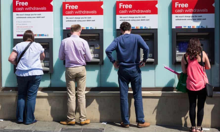 HSBC ATM cash machines, Newcastle upon Tyne