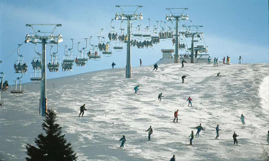 Chairlifts serve 104km of pistes at Folgaria