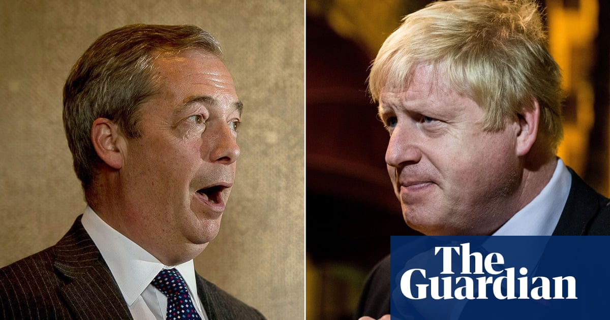 Trump says Johnson and Farage could form 'unstoppable force'