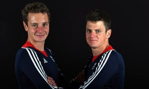 Team GB triathletes Alistair and Jonny Brownlee.
