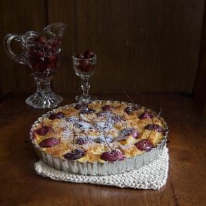 Cherries tart