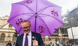 Ukip leader Richard Braine in Westminster earlier this month.