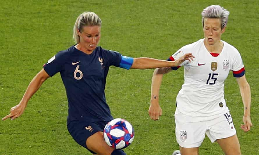 Megan Rapinoe and Amandine Henry face off on Friday