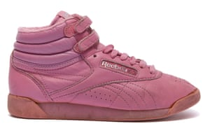 1987: Reebok Freestyle Hi. The brand was the first footwear company to design a shoe specifically for aerobics.
