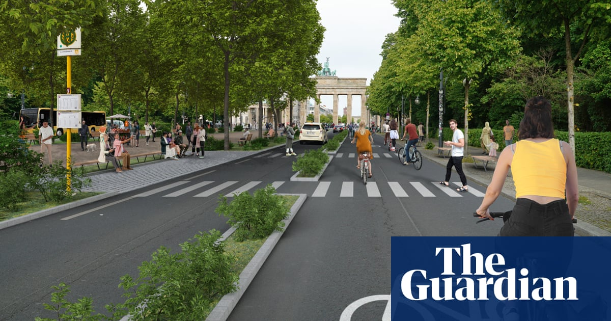 Berlin's car ban campaign: 'It's about how we want to live, breathe and play'