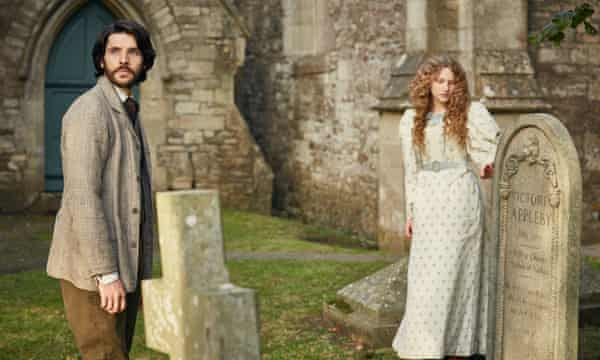 Colin Morgan and Tallulah Rose Haddon in The Living and the Dead