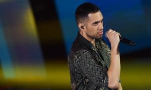 Italian singer Mahmood