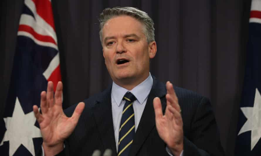 Mathias Cormann says Coalition needs more time to convince crossbenchers on company tax cuts.