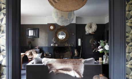 Shades of grey: a chic south London flat - on a tight budget