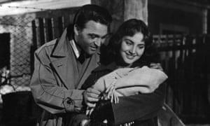 Franco Fabrizi and Leonora Ruffo in Federico Fellini's I Vitelloni.