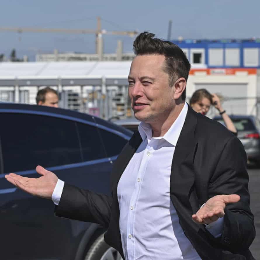 Elon Musk lost $16.3bn off his net worth as tech stocks wobbled.
