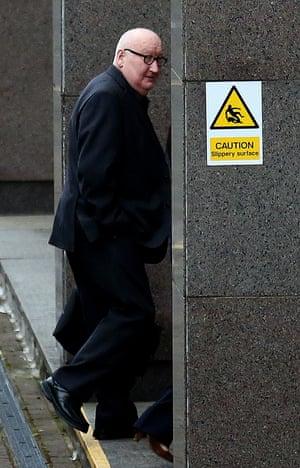 Harry Clarke, who was driving a bin lorry when it crashed killing six people.