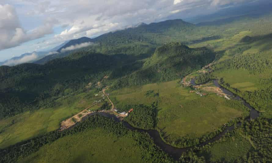 West Kalimantan province on Borneo island