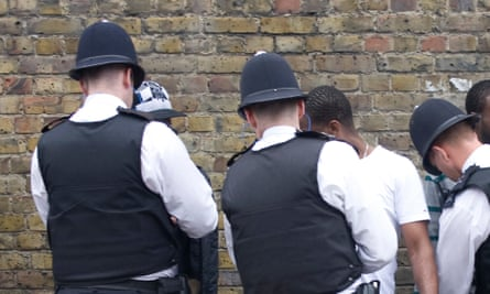 Stop and search.