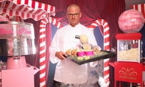 'The self-appointed king of micro gastronomy' ... Heston Blumenthal.