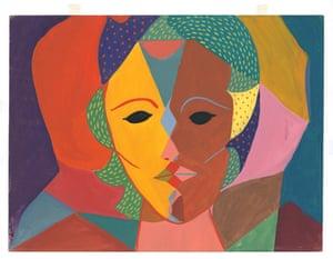 Triple-Face Portrait c. 1950-1951