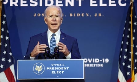 US president-elect Joe Biden has vowed to return the US to the Paris agreement.