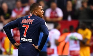 Kylian Mbappé got on the scoresheet, but PSG were well beaten by Reims.