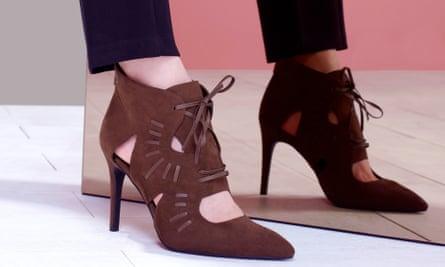 Cutwork boots, £35.