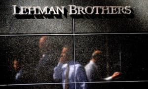 Lehman Brothers sign on wall