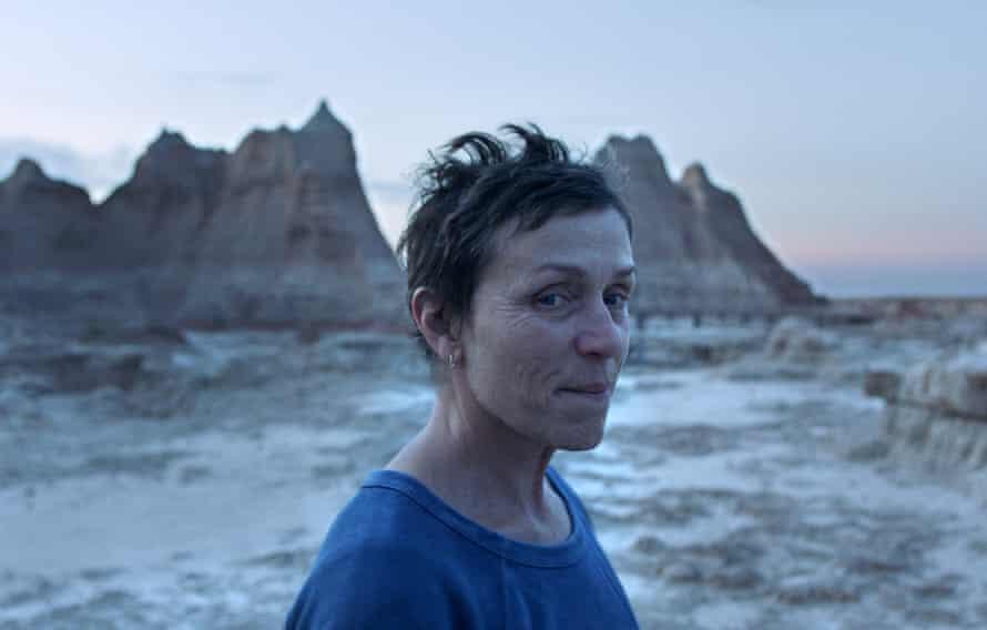 Winning role … Frances McDormand in Nomadland.