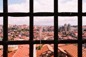 The view of Porto from the former prison.